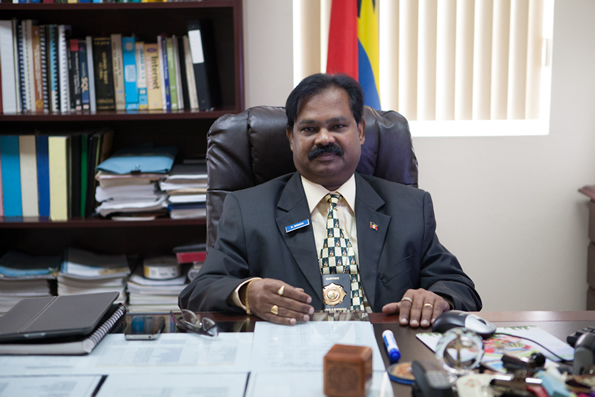 Comptroller of customs Raju Boddu